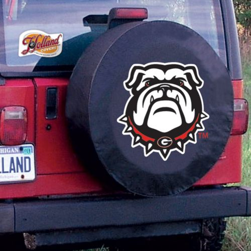 TeamSportsCovers Georgia Bulldogs College NCAA Tire Cover Size: E10 - 30 x 10 Inch