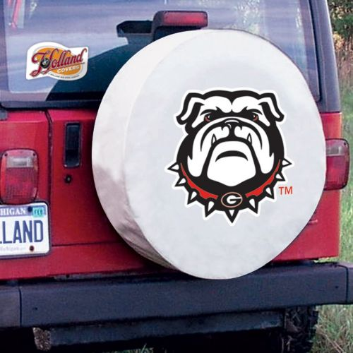 TeamSportsCovers Georgia Bulldogs College Tire Covers Size: A - 34 x 8 Inch